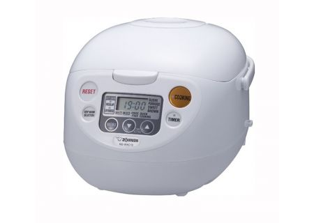 Zojirushi Micom Cool White 5.5-Cup Rice Cooker And Warmer - NSWAC10