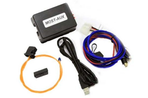 Large image of NAV-TV MOST-AUX Auxiliary Audio Input - NTV-KIT007
