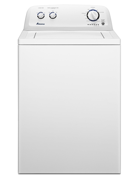 Amana 3 4 Cu Ft White Top Load Washer Ntw4600yq Abt