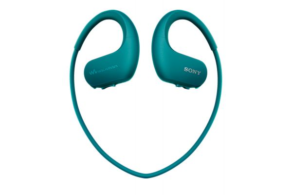 Sony Waterproof MP3 Blue Wireless Sports Walkman - NWWS413LM