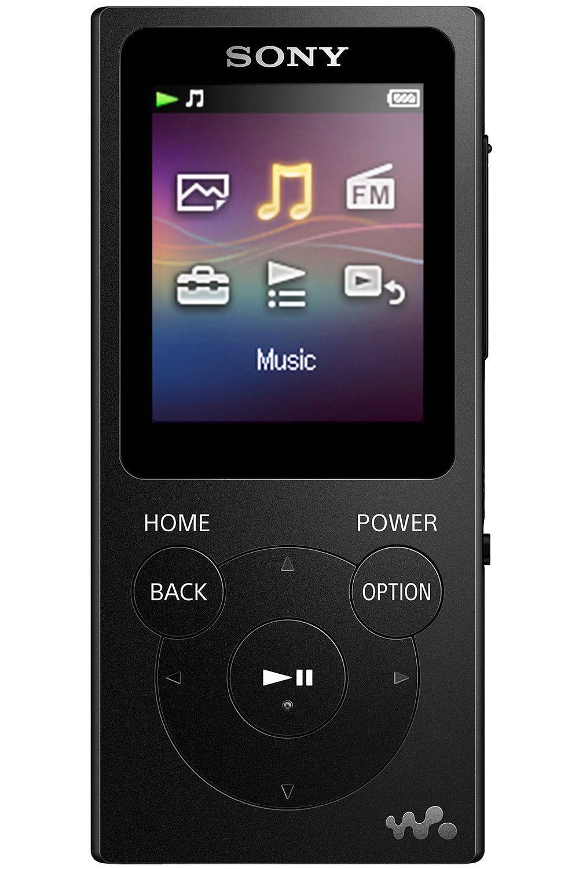 Sony 16gb Black Walkman Mp3 Player Nwz E395 B