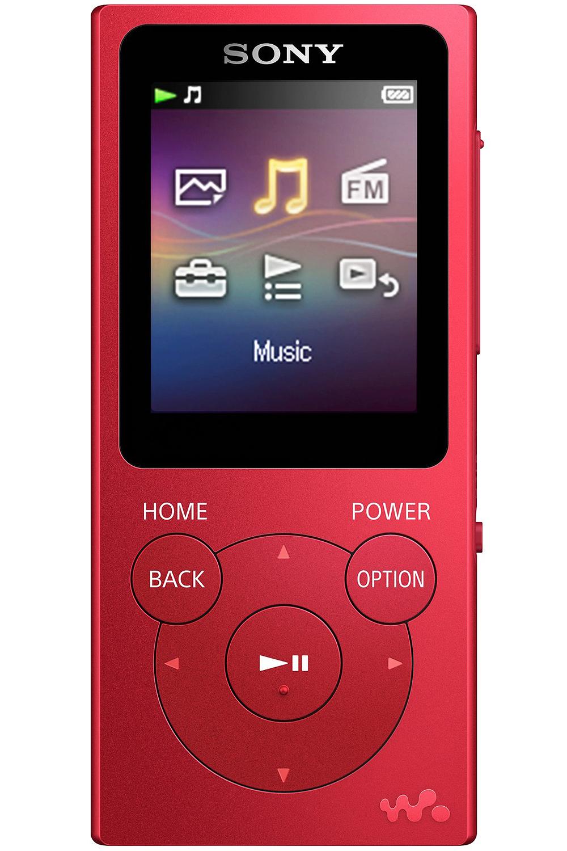 Sony 16gb Red Walkman Mp3 Player Nwz E395 R