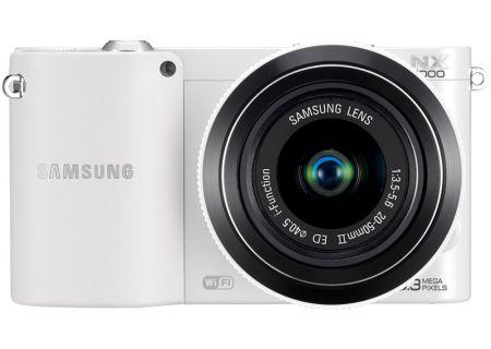 Samsung - NX1000KITWH - Digital Cameras