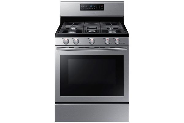 Samsung 5.8 Cu Ft Stainless Steel Free Standing Gas Range - NX58H5600SS