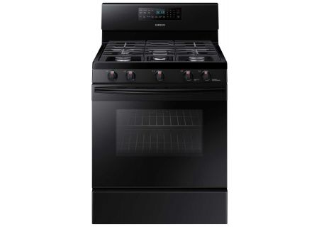 Samsung 5.8 Cu. Ft Black Freestanding Gas Range - NX58M5600SB