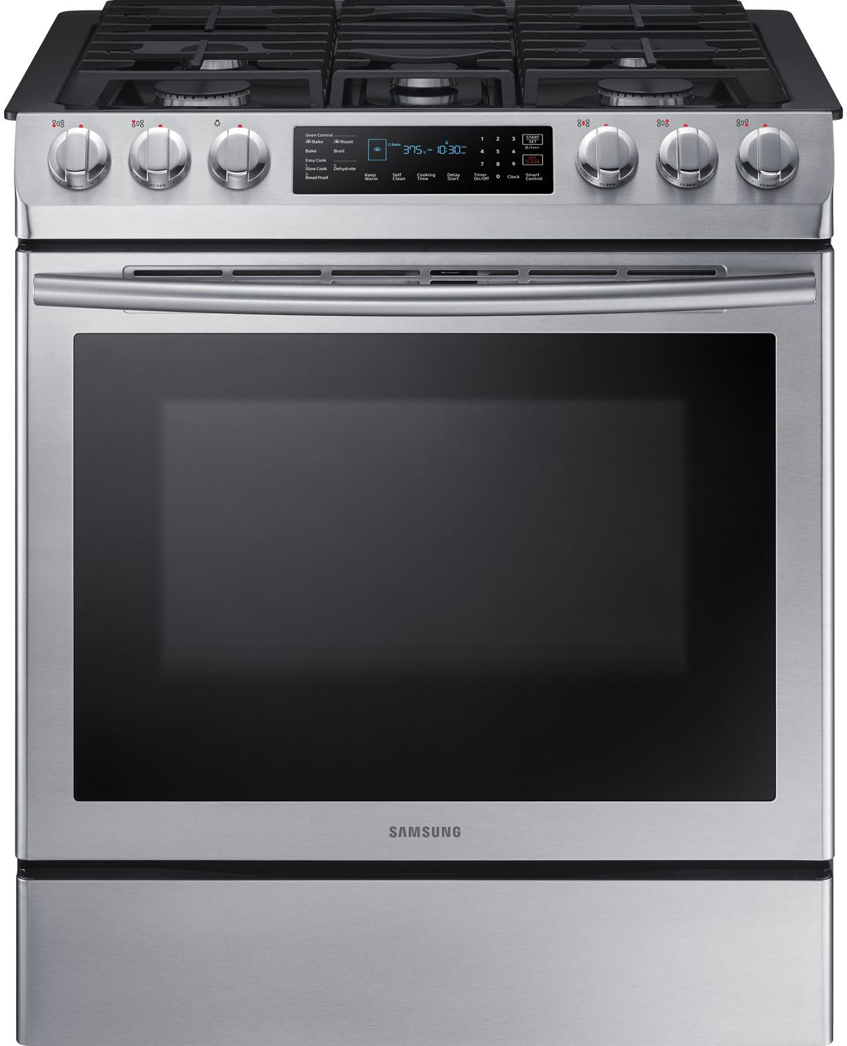 Samsung 30 Quot Stainless Slide In Gas Range Nx58m9420ss