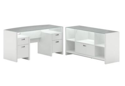 Bush - NYS002PW - Home Office Desks