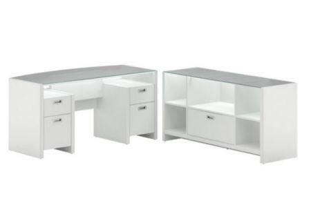 Bush - NYS002PW - Home Office Desks