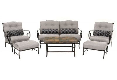 Hanover - OCEANA6PC-SLV - Patio Furniture