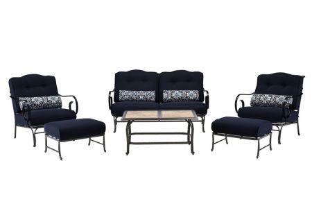 Hanover - OCEANA6PC-TL-NVY - Patio Seating Sets