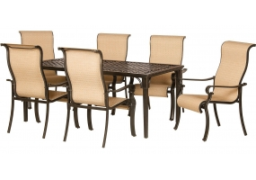 Hanover - ODBR-7PC-SL-AL - Patio Furniture