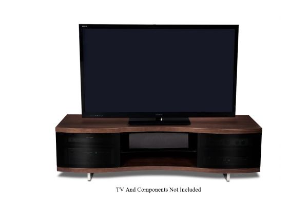Large image of BDI Ola 8137 Chocolate Walnut TV Stand - OLA8137CWL