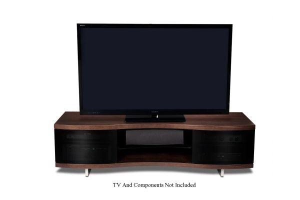 Large image of BDI Ola 8137 Chocolate Walnut TV Stand - OLA8137CWL