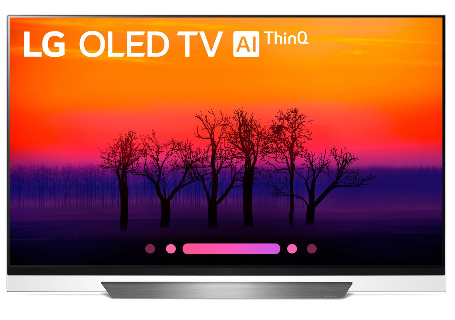 Lg 55 4k Hdr Smart Ai Oled Tv With Thinq Oled55e8pua