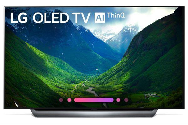 """LG 55"""" 4K HDR Smart AI OLED TV With ThinQ - OLED55C8PUA"""