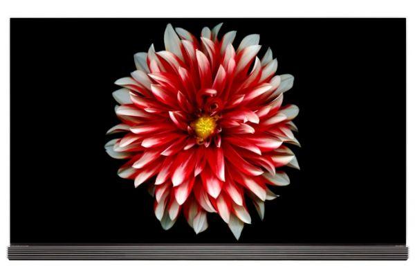 "LG SIGNATURE 65"" Black UHD 4K OLED HDR Smart HDTV With WebOS 3.5 - OLED65G7P"
