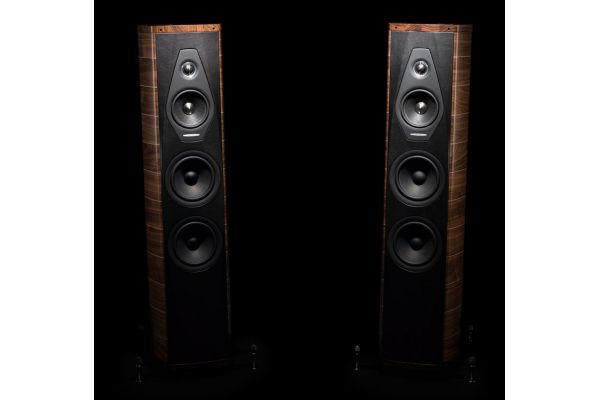 Sonus Faber Olympica III 3-Way Walnut Floor Standing Speakers (Pair) - OLYMPICAIIIWAL