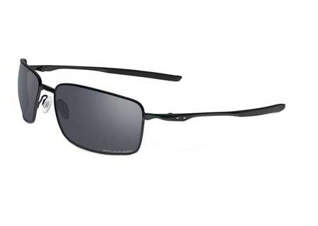 Oakley Polarized Square Wire Matte Fog Mens Sunglasses - - OO4075-05