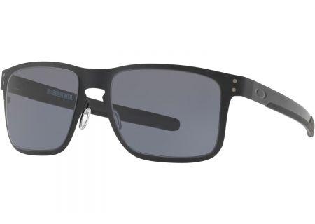 d0b1379db1 Oakley Holbrook Metal Matte Black Mens Sunglasses - OO4123-0155