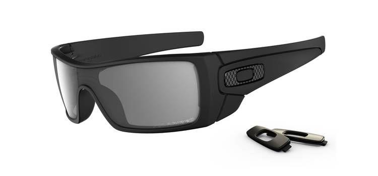 7e6835b2ba79 Oakley Batwolf Wrap Matte Black and Grey Polarized Lens Mens Sunglasses -  OO910104