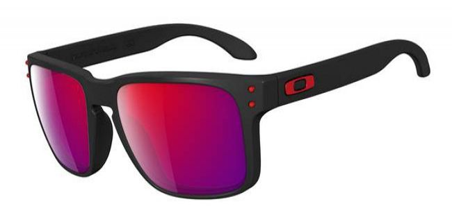 75b2729eb60 Oakley Holbrook Red Iridium Lens Mens Sunglasses - OO9102-36