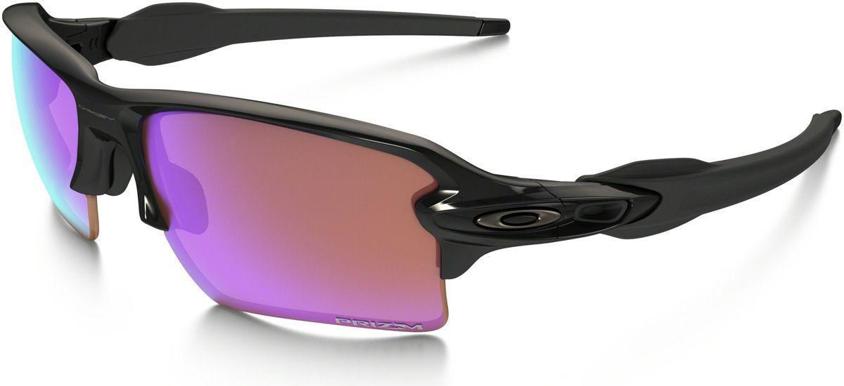 46b24dcecaf3c Oakley Semi-Rimless Prizm Golf Flak 2.0 XL Mens Sunglasses - OO9188-05