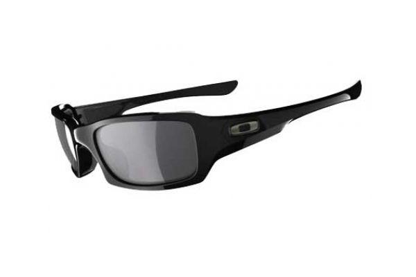Oakley Polarized Fives Squared Mens Black Sunglasses - OO923806