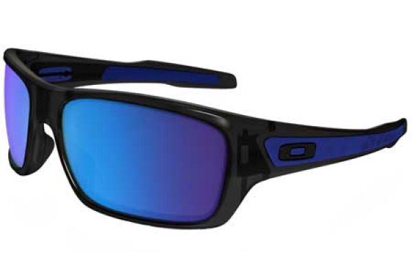 Oakley Turbine Square Black Ink Mens Sunglasses - OO9263-05