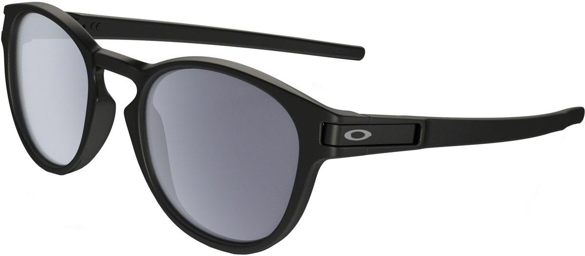 ec69439548897 Oakley Latch Round Matte Black Mens Sunglasses - OO9265-01