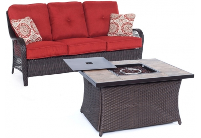 Hanover - ORLEANS2PCFP-BRY-B - Patio Seating Sets