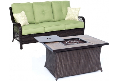 Hanover - ORLEANS2PCFP-GRN-A - Patio Seating Sets