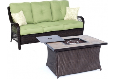 Hanover - ORLEANS2PCFP-GRN-B - Patio Furniture