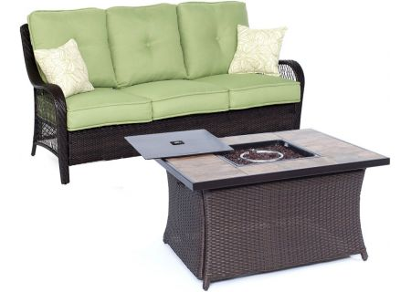 Hanover - ORLEANS2PCFP-GRN-B - Patio Seating Sets