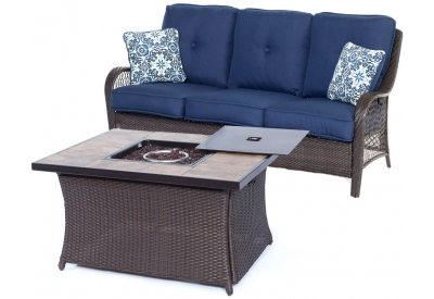 Hanover - ORLEANS2PCFP-NVY-B - Patio Furniture