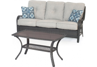Hanover - ORLEANS2PC-G-SLV - Patio Furniture