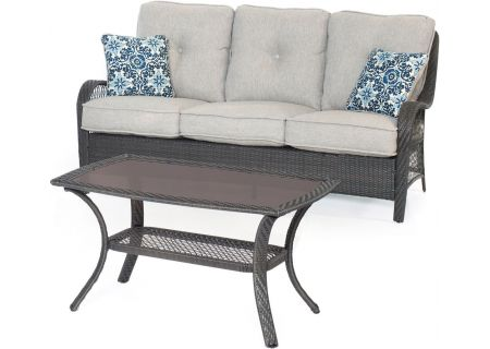 Hanover - ORLEANS2PC-G-SLV - Patio Seating Sets