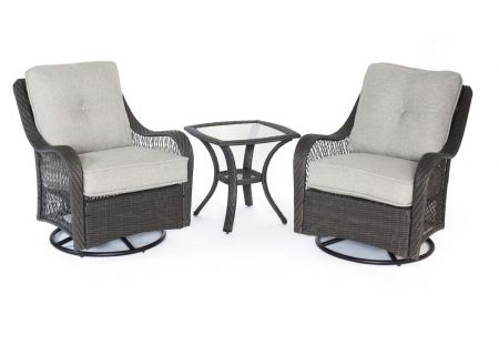 Hanover - ORLEANS3PCSW-G-SLV - Patio Seating Sets