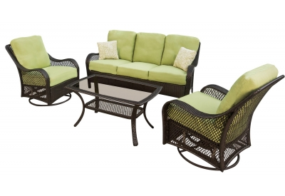 Hanover - ORLEANS4PCSW - Patio Seating Sets