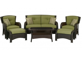 Hanover - OSST-6PC-CU-GL - Patio Furniture
