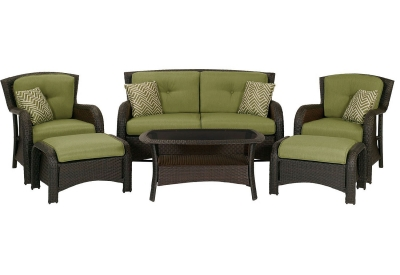 Hanover - STRATHMERE6PC - Patio Furniture