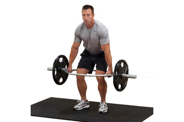 Body-Solid Olympic Shrug Bar  - OTB50