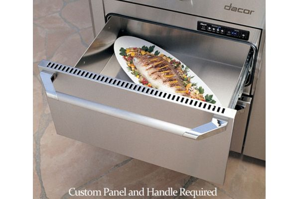 "Large image of Dacor Renaissance 24"" Indoor-Outdoor Custom Overlay Panel Warming Drawer - OWD24"