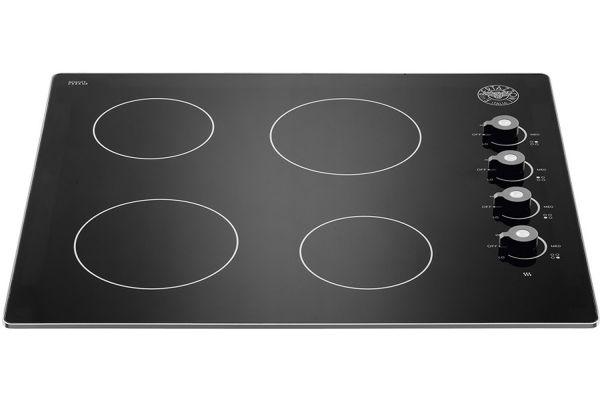 """Bertazzoni 24"""" Professional Series Black Ceramic Cooktop - P244CERNE"""