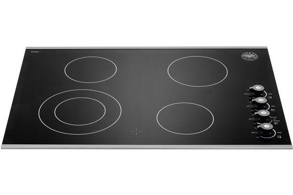 """Bertazzoni 30"""" Professional Series Black Ceramic Cooktop - P304CERNE"""