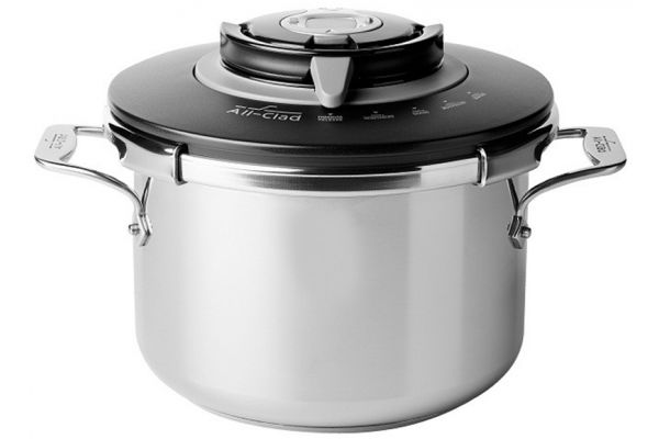 All-Clad PC8-Precision Stainless Steel Pressure Cooker - P4231442