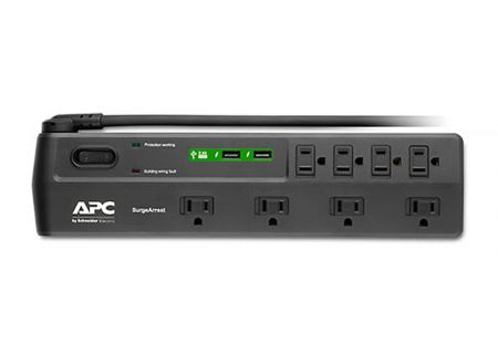 APC Home Office SurgeArrest 8-Outlet With 2 USB Charging Ports - P8U2