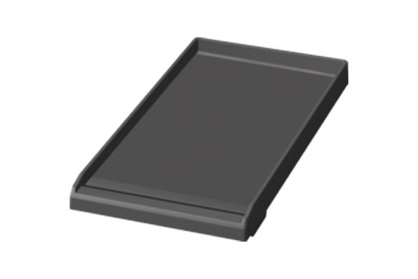 """Large image of Thermador 12"""" Professional Griddle Plate With Drip Tray - PAGRIDLFW"""