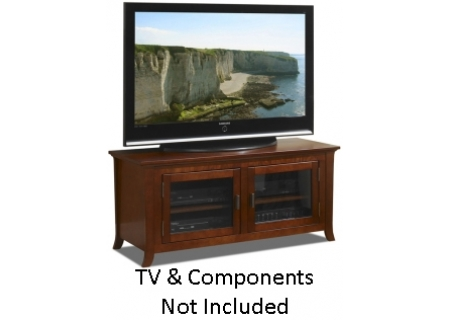 "Tech Craft Walnut 50"" Wide Credenza TV Stand - PAL50"