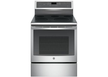Ge Profile 30 Freestanding Stainless Steel Electric Convection Range Pb911sjss