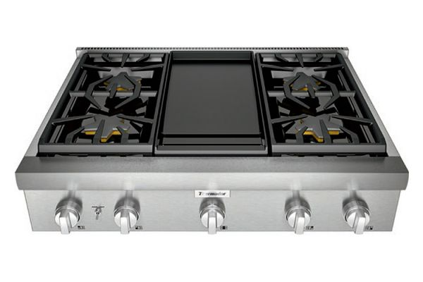 "Thermador 36"" Professional Series Stainless Steel Gas Rangetop - PCG364WD"